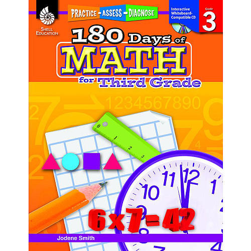 180 Days of Math for Third Grade Book