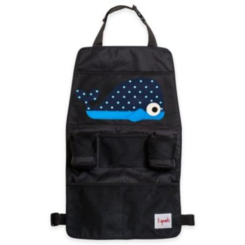 3 Sprouts Backseat Organizer in Blue Whale