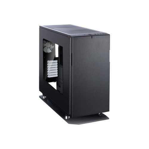 MetaCreations Define R5 - Window - Tower - ATX - no power supply (ATX) - black - USB/Audio (FD-CA-DEF-R5-BKO-W)