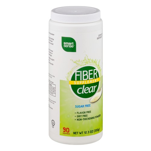 Smart Sense Fiber Supplement Clear Sugar Free 12.3 OZ