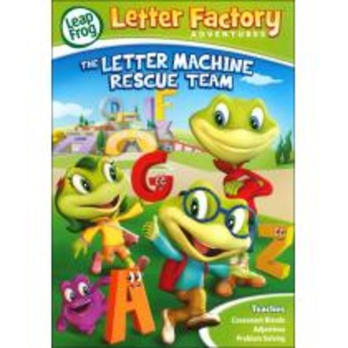 LeapFrog: Letter Factory Adventures - The Letter Machine Rescue Team [DVD] [2014]