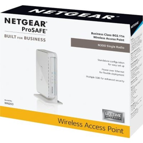 NETGEAR ProSAFE Business Class WN203-100NAS Wireless-N Access Point