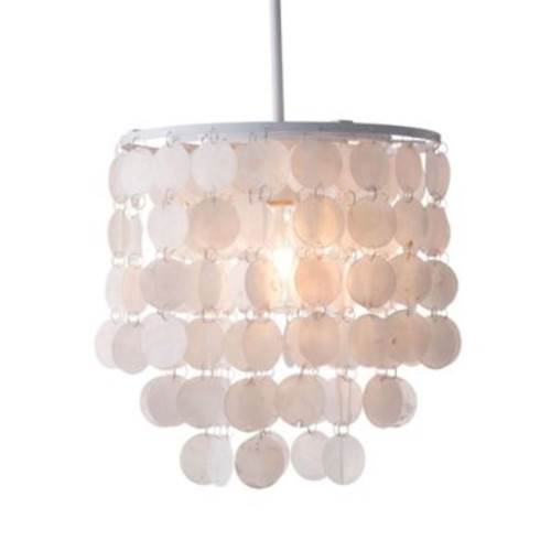 Zuo Modern Contemporary Shell Ceiling Lamp White