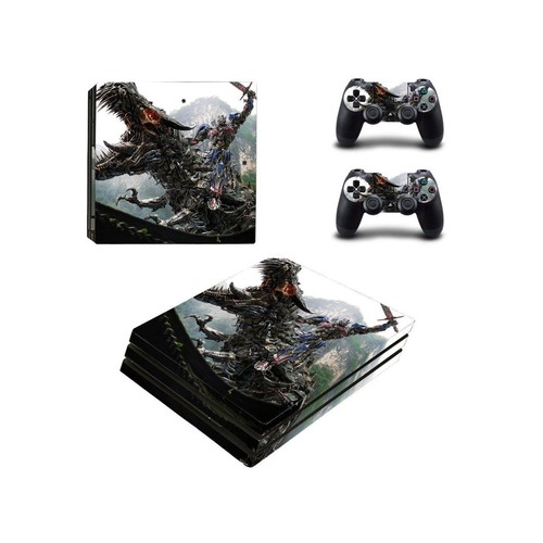 Transformers Age of Extinction ps4 pro skin decal for console and controllers