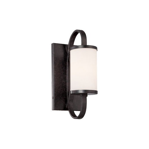 Designers Fountain 84401 Bellemeade 1 Light Wall Sconce Bathroom Fixture