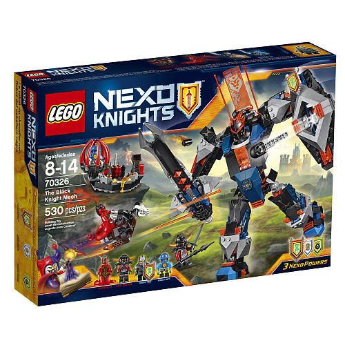 LEGO Nexo Knights The Black Knight Mech (70326)