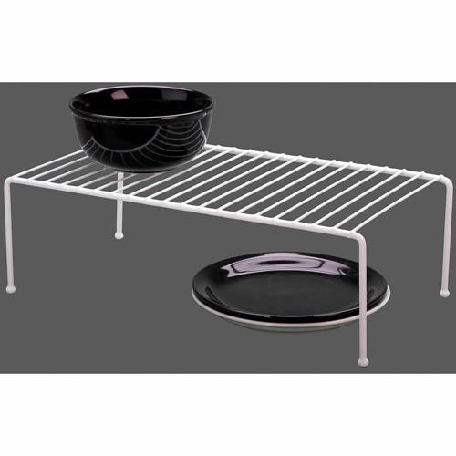 Grayline 40710, Jumbo Kitchen Helper Shelf, White [Jumbo]