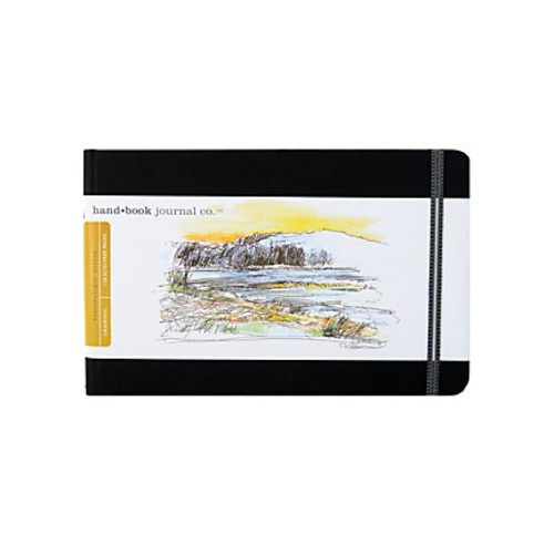 Hand Book Journal Co. Travelogue Drawing Journals, Landscape, 5 1/2