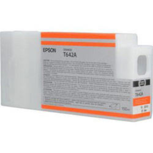Epson T642A00 UltraChrome HDR Orange Printer Ink for Stylus Pro 7900 & 9900 T642A00