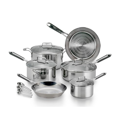 T-Fal Performa Pro Stainless Steel 14-Piece Cookware Set