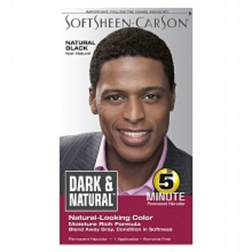 Dark and Natural 5 Minute Permanent Hair Color Natural Black
