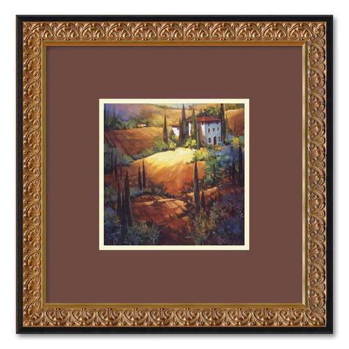 Amanti Art DSW01282 Nancy O'Toole 'Morning Light Tuscany' Framed Art