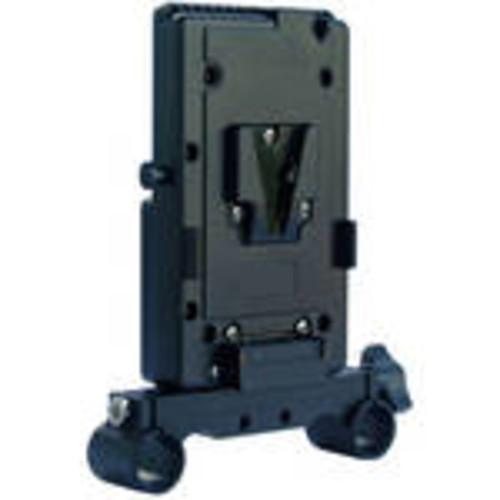 Vertical V-Lock Battery Mount for with 19mm Rods Bracket