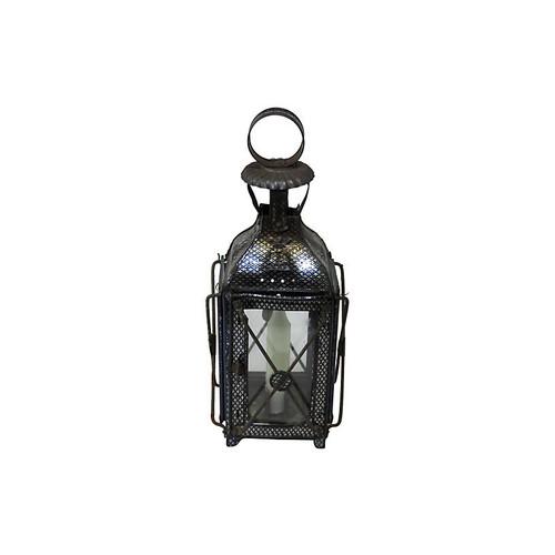 1880s Antique Tin Candle Lantern
