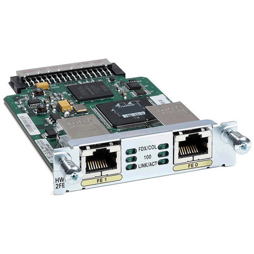 2-Port Fast Ethernet High-Speed WIC for Cisco Integrated Services Routers