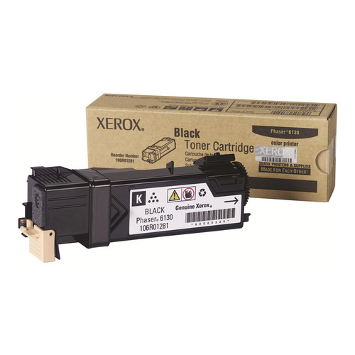 Xerox Original Toner Cartridge - Laser - 2500 Pages - Black - 1 Each