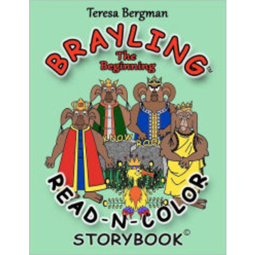 Brayling: the Beginning Read-n-Color Storybook