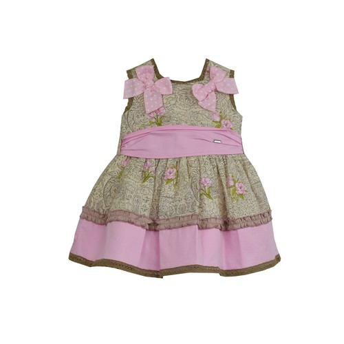 Rose Dress & Nappy