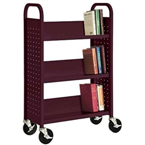 Sandusky Lee SL327-03 Single Sided Sloped Shelf Welded Bookcase, 14