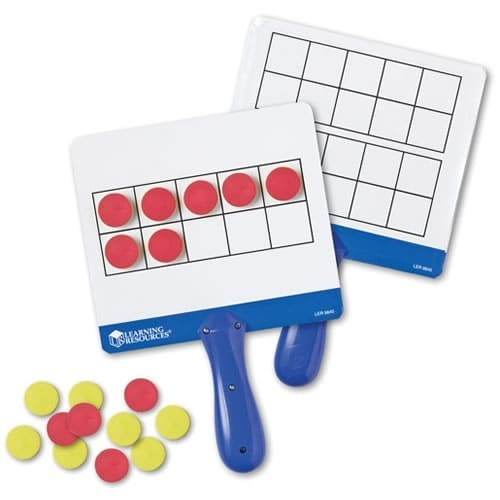 Learning Resources Learning & Educational Toys Magnetic Ten Frame Answer Boards