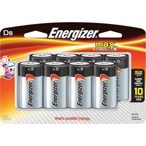 Energizer MAX Alkaline D Batteries  8-Pk.,
