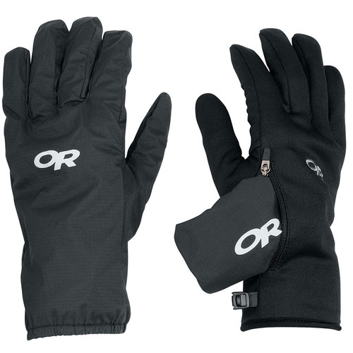 OUTDOOR RESEARCH Men's Versaliner Gloves, Black
