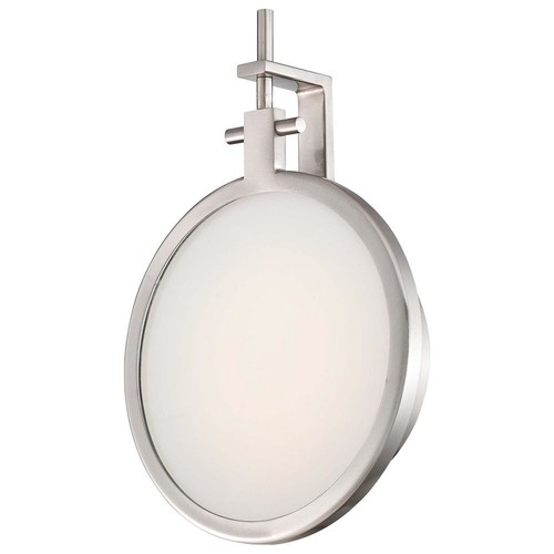 George Kovacs 12-Watt Brushed Nickel Integrated LED Wall Sconce
