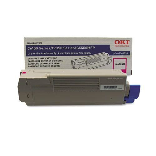 43865718 High-Yield Toner, 8000 Page-Yield, Magenta