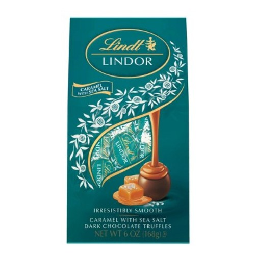 Lindt Caramel with Sea Salt Dark Chocolate Truffles - 6oz