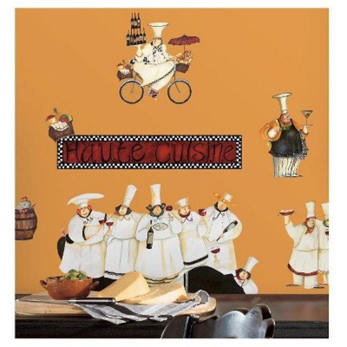 RoomMates Chefs Peel & Stick Wall Decals