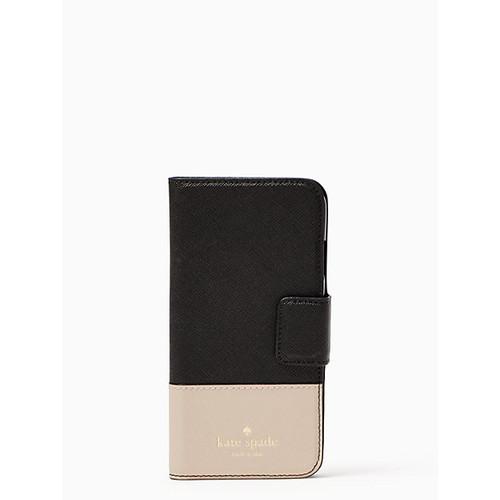 leather wrap folio iphone 7/8 case