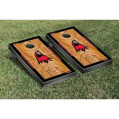 Victory Tailgate NCAA Basketball Wooden Cornhole Game Set