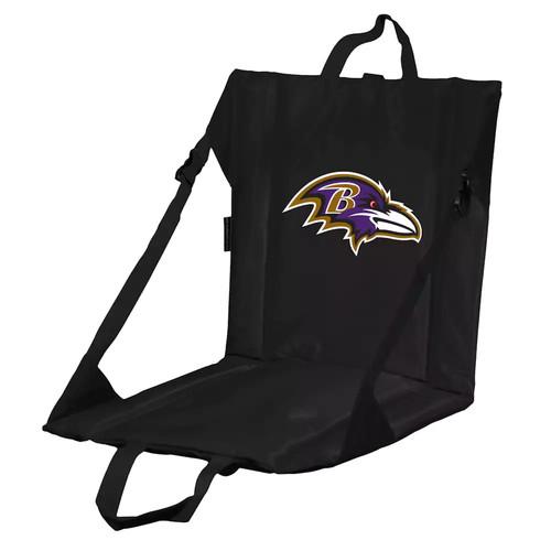 Logo Brands Baltimore Ravens Folding Stadium Seat