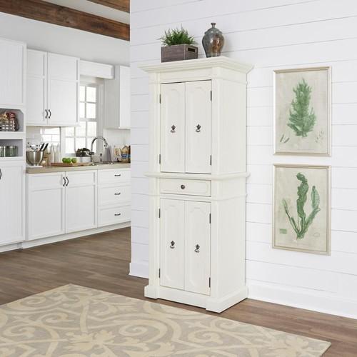 Home Styles Fiesta Oak White Food Pantry