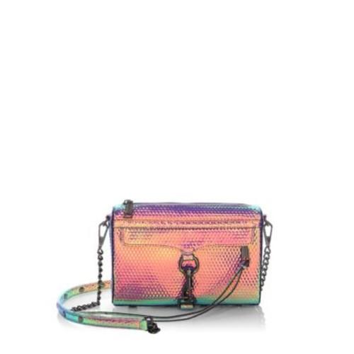 Mini Mac Hologram Crossbody Bag