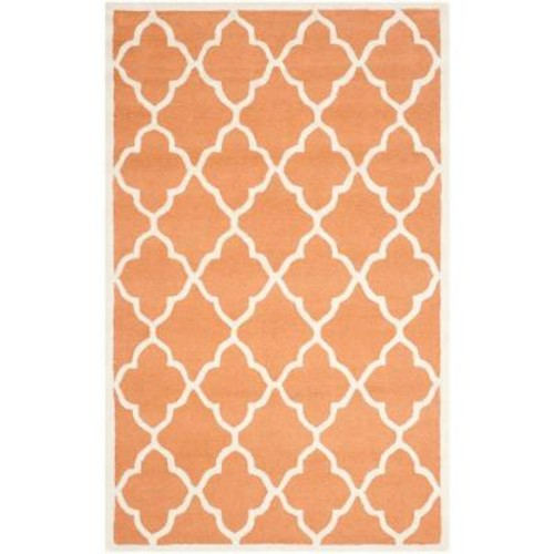 Safavieh Cambridge Coral/Ivory 4 ft. x 6 ft. Area Rug