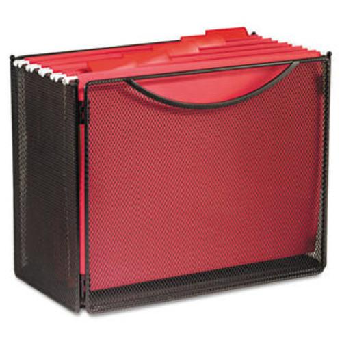 Safco (Price/EA)Safco SAF2169BL Desktop File Storage Box, Steel Mesh, 12-1/2w x 7d x 10h