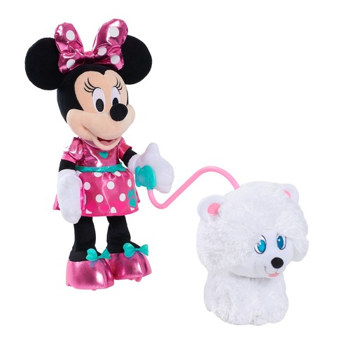 Disney Junior's Minnie's Walk & Play Puppy Plush