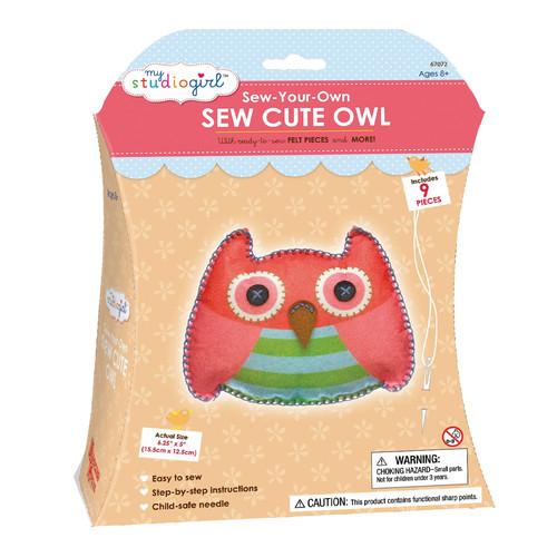 My Studio Girl Sew-Your-Own Sew Cute - Owl