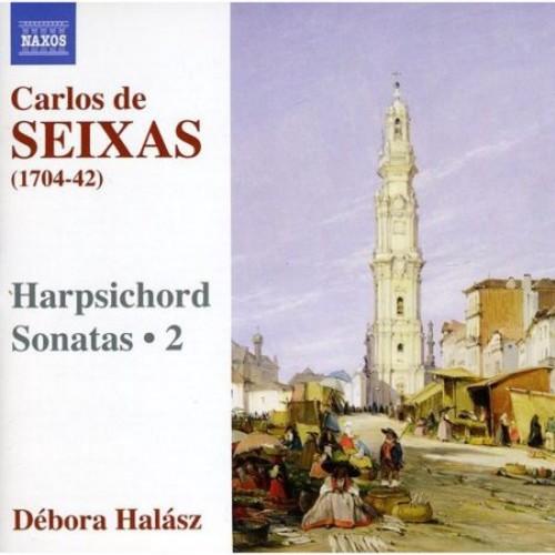 Carlos de Seixas: Harpsichord Sonatas, Vol. 2 [CD]