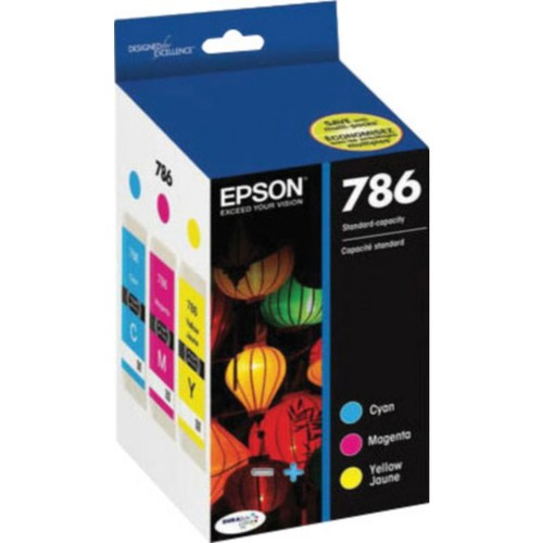 EPSON DURABrite Ultra 786 (T786120-BCS) Black, Cyan, Magenta and Yellow Ink Cartridge Multi-pack (