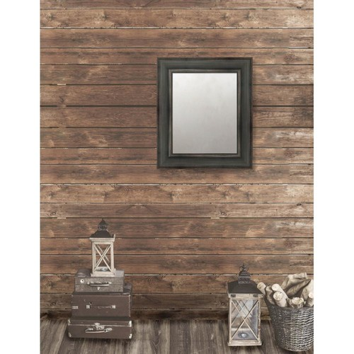 Larson-Juhl Pinnacle 23.5 in. x 27.5 in. French Antique Wide Framed Antique Mirror