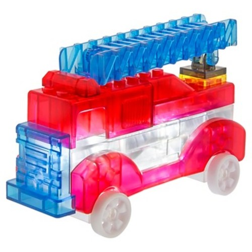 Laser Pegs Junior 3 in 1 Rescue Vehicles Lighted Construction Toy