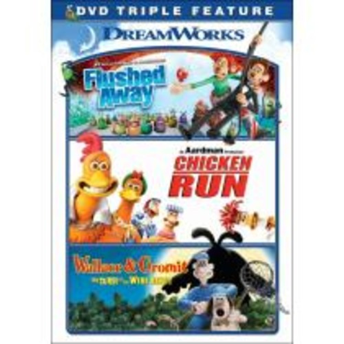 Flushed Away/Chicken Run/Wallace and Gromit [3 Discs] [DVD]