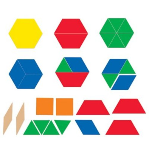 Learning Resources Magnrtic Pattern Blocks