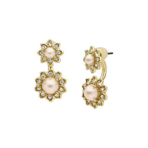 MARCHESA Floral Ear Jackets