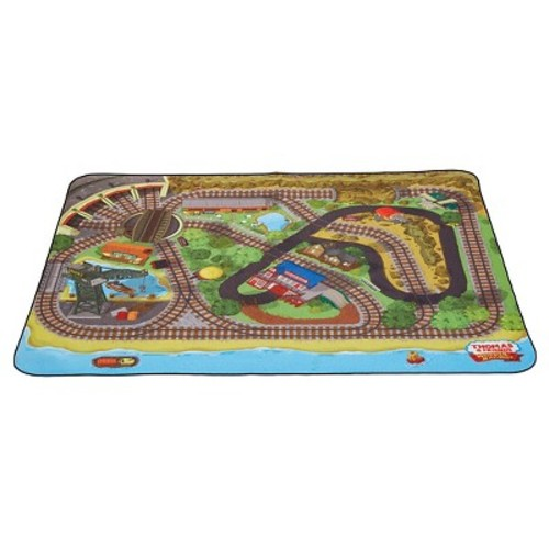 Fisher-Price Thomas & Friends Wooden Railway Felt Playmat