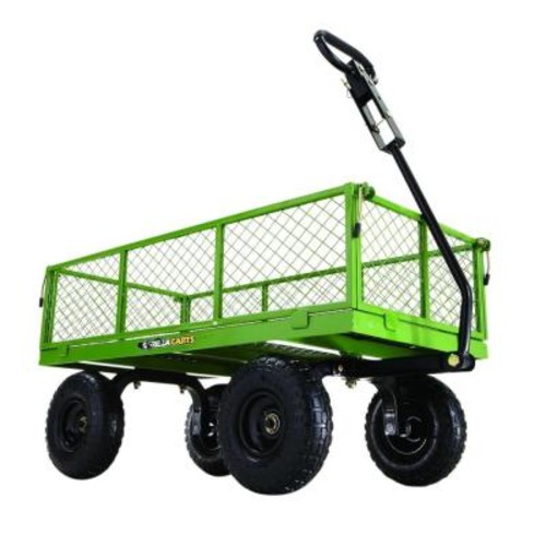 Gorilla Carts 800 lb. Steel Utility Cart