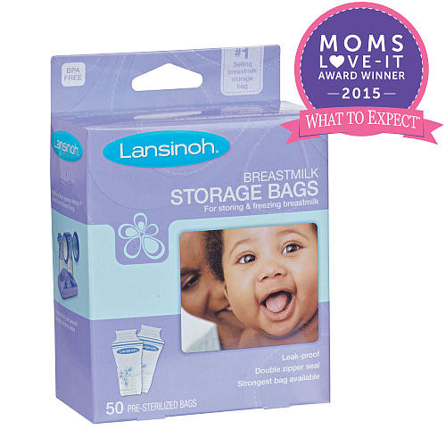 Lansinoh Breast Milk Storage Bags - 50 Count