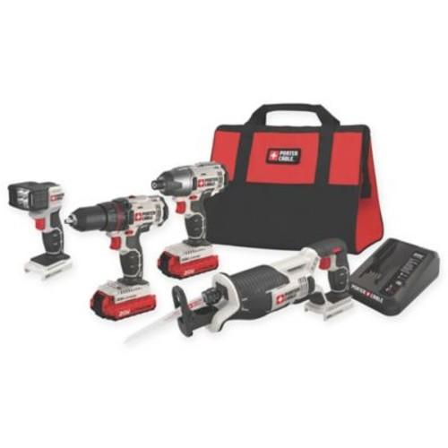 Porter-Cable 4-Tool 20-Volt Max Cordless Combo Kit